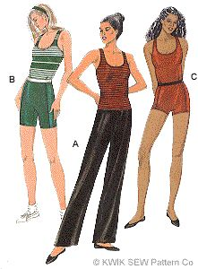 Yoga Sewing pattern