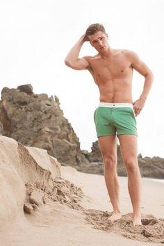 Edward Wilding + Thor Bulow Model Swimwear for Mr Turk image Edward Wilding Mr Turk 003