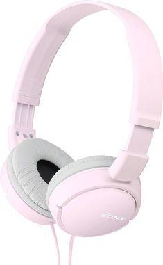 Sony MDR-ZX110, růžová MDRZX110P.AE - Klasická sluchátka uzavřeného provedení s velkými pohodlnými náušníky, frekvenční rozsah 12 Hz do 22 kHz, pozlacený stereofonní konektor, citlivost 98 dB/mW, délka kabelu 1,2 m, ideální pro mp3 přehrávače a použití v exteriérech.