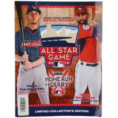 MLB 2014 All-Star Game Home Run Derby Limited Edition Program - $5.99