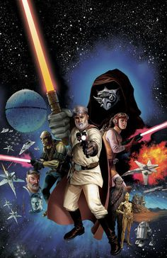 Como seria Star Wars se George Lucas tivesse filmado a PRIMEIRA versão do roteiro?