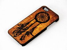 Retro Grunge Dreamcatcher iPhone 5 5S 5C 4S&4  Case Hard Plastic Case,iPhone Cover,Retro Style, Christmas Gift.New Year Gift