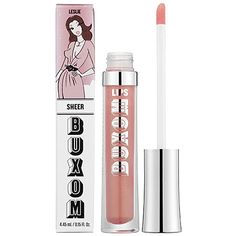 I'm a huge fan of the Buxom Big & Healthy Lip Polishes—they're super pigmented and moisturizing. Leslie is a lovely pearly pink hue that looks stunning over nude lipstick. #Sephora #SephoraItLists —Janine J., Sephora Beauty Advisor