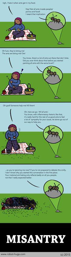 Misantry Debate by Robot Hugs (aka one of the best webcomics ever)