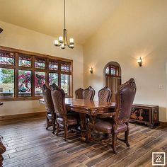 Helena Building Industry Association Parade of Homes – Golden Eagle Construction Dining Room