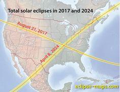 Solar Eclipses 2017,2024