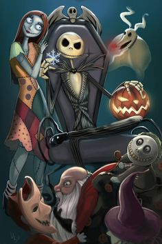 Since the 1993 release of Tim Burton's The Nightmare Before Christmas, Jack Skellington and Sally have become fan favorites. Description from pinterest.com. I searched for this on bing.com/images