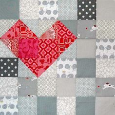 by dutchcomfort. Love the idea of monotone with a pop of color to highlight a pattern. Not just white. :)