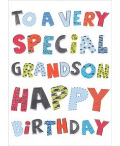 315 best happy and heaven birthday wishes images on pinterest in happy birthday grandson messages campusgifts to a very special grandson m4hsunfo