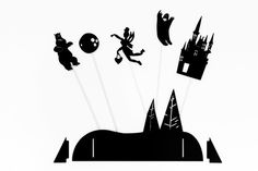 Shadow Puppets - Forest from Tinyfolk, $25