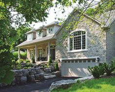 Private Residence, Owen Sound, Ontario, Canada, Q-Stone Concrete Masonry Units.