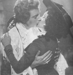 what a kiss!  The Scarlet Pimpernel