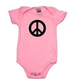 Peace Love Drums Infant Baby Boys Girls Crawling Suit Sleeveless Rompers Romper Jumpsuit White