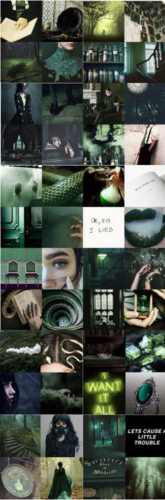 My own slytherin aesthetic