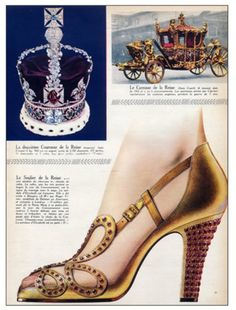 Roger Vivier's Shoes worn by Queen Elizabeth II for her coronation. Great article.