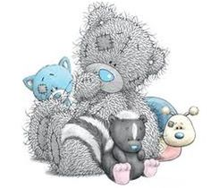 Tatty Teddy and Blue Nose friends