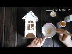 Декорируем хранилище для чайных пакетиков. Декупаж. Выпуск 3 - YouTube