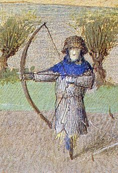 Lots of Medieval images of archery
