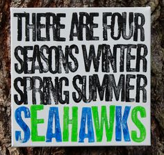 """#Seahawks"" #Canvas  #fathersday #dad #father #local #locavore #seattle"