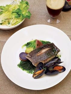 also simple clean eats pan seared black cod with summer vegetables ...