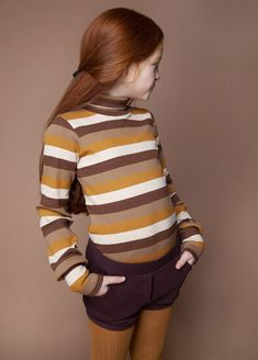 The winter basic for instant style. A lovely MINGO Turtle Neck for kids with snug fit and elastic rib. Ginny Weasley, Fashion Kids, Kids Wear, Snug Fit, Turtle Neck, Unisex, Hoodies, Retro, How To Wear