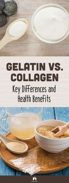 Gelatin Vs. Collagen: While they come from the same sources— bones, skin and tissue — they're not the same thing. Find out the key differences here.