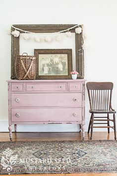 This dresser would be so pretty in a girl's room! Arabesque dresser | take two - Miss Mustard Seed