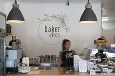 """Baker & Co. For food just like """"mum used to make"""", pop in here and grab an Allpress coffee while you're at it. The team at Baker & Co turn out sweet and savoury treats including muffins, scones, brioche, pies, wraps, tarts and sandwiches, as well as cookies, slices and cakes. Everything is made in house using free-range eggs, meat and local fresh produce. If you're thinking about a party, they also cater for morning teas and lunches."""