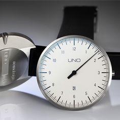 Einzeigeruhr • UNO+ Einzeigeruhr online | Botta Design