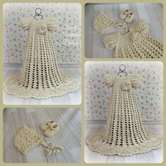 Baby Girls Silk Crochet Baptism / by SweetSouthernBabies on Etsy
