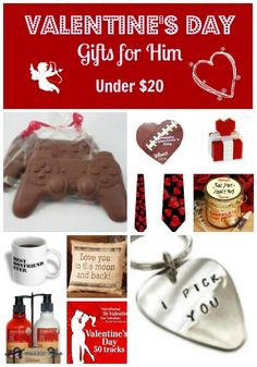 Chocolate Game Controllers are hot Valentine's Day gifts and sell out quickly, so grab yours now! Here's 10 Valentine's Day gifts for him under $20.