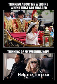 WEDDING MEME. BROKE.