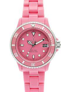 orologio rosa toywatch