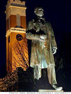 Henry Vanderbilt had doubled his families fortune from to by the time he died. Knight Orders, John D Rockefeller, Cornelius Vanderbilt, Vanderbilt Commodores, Bible Belt, One Million Dollars, State Of Tennessee, Vanderbilt University, Glasgow School Of Art