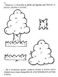 Resultado de imagem para árvores para recortar e montar