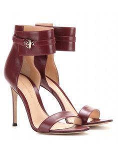 #gianvitorossi - leather sandals