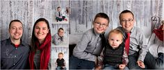 family, little boy, brothers, tie, red, gray, black, scarf, family, children, mother, father, vest, holiday, winter, christmas, presents, photos, photography, couple