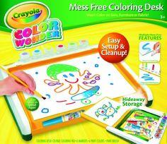 Crayola Color Wonder Mess Free Coloring Desk Crayola,http://www.amazon.com/dp/B00CI6J5KK/ref=cm_sw_r_pi_dp_TPDHtb036YSYFNR7
