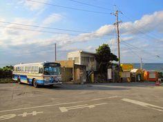 沖縄の旅に路線バス