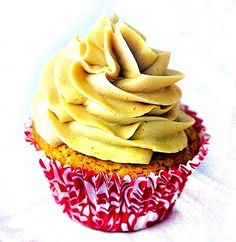 Cupcakes de Crema de Mani