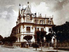 La casa de don Agustín Diener, en la escuadra que forman las calles de Havre y…