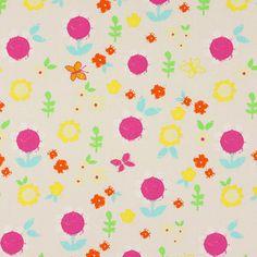 Cotton Flower Meena - Cotton - offwhite