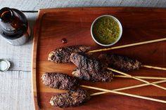 Dinner Tonight: Lamb Biftekia + Greek Mahogany Potatoes on Food52