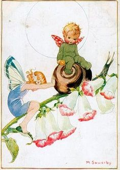 Vintage Victorian Imagens e Cartões Postais: Fadas