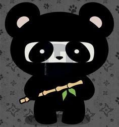 how to draw a panda ninja Panda Funny, Cute Panda, Tribal Heart Tattoos, Ninja Cats, Panda Party, Online Drawing, Kawaii, Tribal Art, Chibi