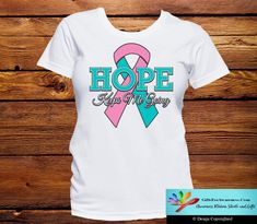 Hereditary Breast Cancer Hope Keeps Me Going Shirts