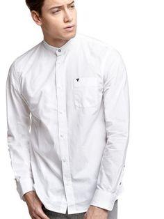 Guess: Hemd mit Stehkragen