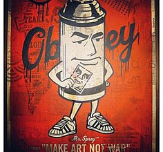 how to make graffiti posters