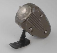 Legergroene metalen Philips knijpkat, handdynamo