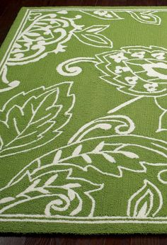 $5 Off when you share! Rugs USA Sundeck Indoor Outdoor Floral Rug #RugsUSA
